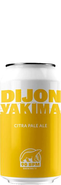 Bière Dijon Yakima Citra Pale Ale brasserie 90 BPM