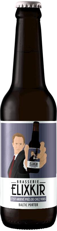 Bière Artisanale C'est arrivé prés de chez vous Baltic Porter Brasserie Elixkir