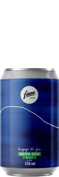 biere artisanale engage le jeu ddh ipa brasserie fauve craft