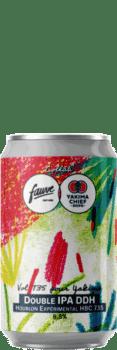 biere artisanale vol 735 pour Yakima DDH DIPA brasserie fauve