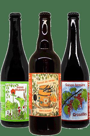 Bières artisanales saison brasserie l'origine du monde