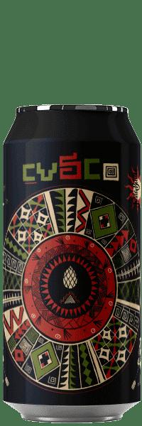 Canette de bière artisanale Cusco Double Hazy Ipa Brasserie Hoppy Road