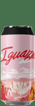 Canette de bière artisanale Iguazu Hazy Ipa Brasserie Hoppy Road