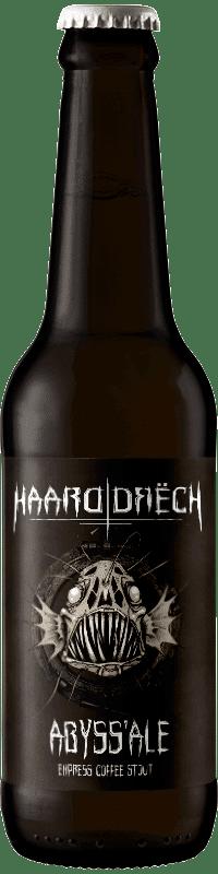 Biere artisanale abyssale coffee stout brasserie Haarddrech