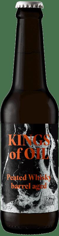 Bouteille kings of oil peated whisky brasserie La Débauche