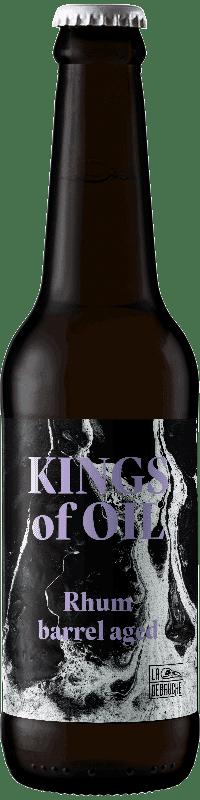 Bouteille kings of oil rhum barrel aged brasserie La Débauche