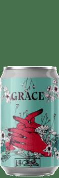 Canette de Bière grace wheat ipa de la brasserie La Débauche