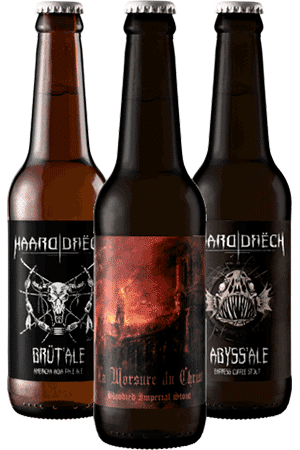 Coffret de bières artisanales Haarddrech