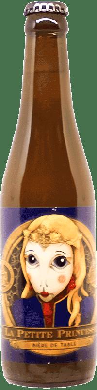 Bière artisanale la petite princesse biere de table brasserie Thiriez