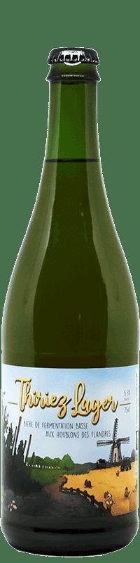 Bière artisanale Lager houblons des Flandres brasserie Thiriez