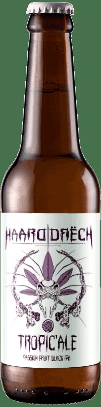 Biere artisanale tropicale black ipa brasserie Haarddrech