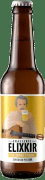 Bière Artisanale Les Copains d'Abord Bohemian Pilsner Brasserie Elixkir