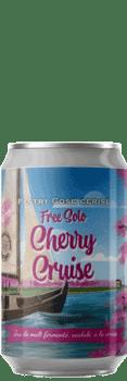 Canette de bière Free Solo Cherry Cruise Gose Cerise Piggy Brewing Company