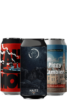 Coffret bières Can DOUBLE IPA Brasseries artisanales françaises