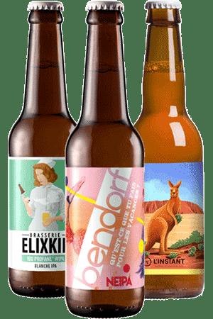 Coffret bières IPA Brasseries artisanales françaises