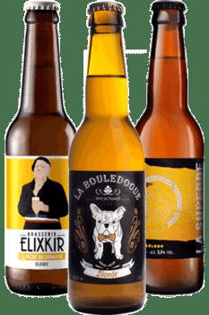 Coffret bières blondes Brasseries artisanales françaises