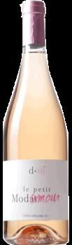 Bouteille de vins Côtes du Roussillon Rouge Petit modamour Rosé du Domaine Modat