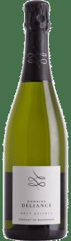 Bouteille de Crémant de Bourgogne Brut Réserve du Domaine Deliance