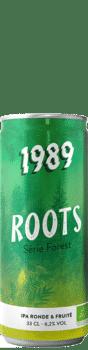 Canette de bière Roots IPA Bio Brasserie 1989 Brewing