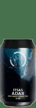 Canette de bière Itsas adar DDH West Coast IPA Brasserie La Superbe