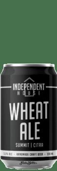 Canette de bière Wheat Ale Brasserie Independent House