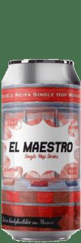 Canette de bière El Mastro Double Neipa Mosaic Piggy Brewing Company