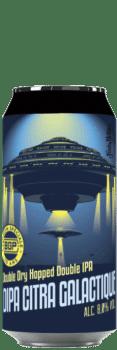 Canette de Bière DIPA Citra Galactique de la brasserie du Grand Paris