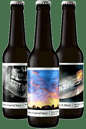 Coffret Barrel Aged bières artisanales Brasserie Popihn