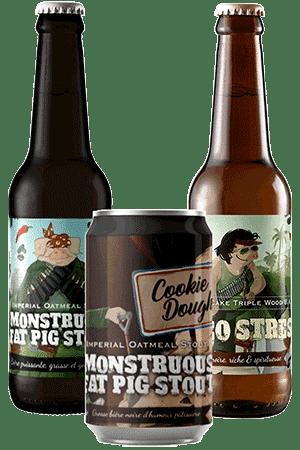 Coffret Brasserie Piggy Brewing Company Monstruous Fat Pig Stout