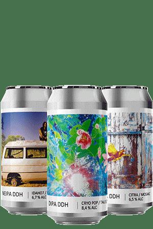 Coffret Canettes nouveautés bières artisanales Brasserie Popihn