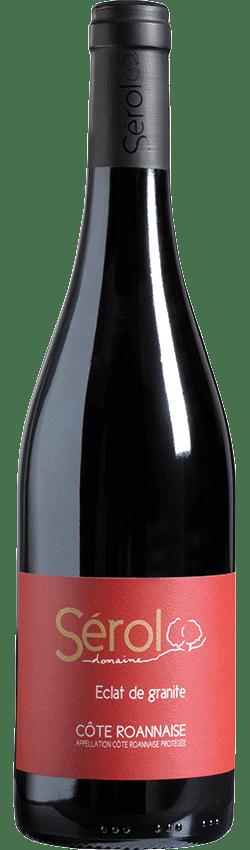 Bouteille de vin Eclat de Granite du Domaine Serol en Côte Roannaise