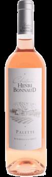 Palette Rosé Bio du Château Henri Bonnaud en Provence