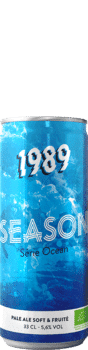 Canette de bière Season Bio Brasserie 1989 Brewing