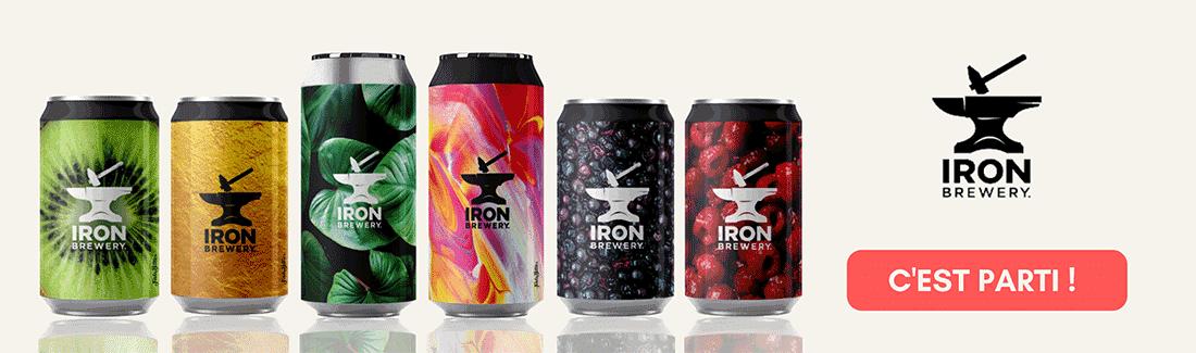Nouveautés Bières de la Brasserie Iron