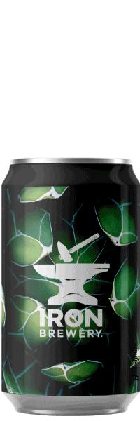 Canette de bière dipa ddh citra centennial Brasserie Iron