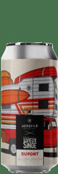 Canette de bière Dupont Gose Citron Timut brasserie aerofab