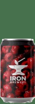 Canette de bière Imperial Sour Framboise Vanille Brasserie Iron