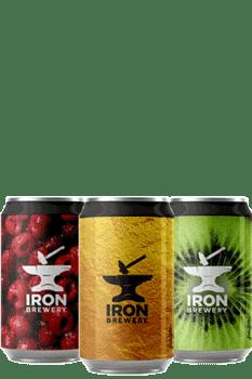 Box de bières Brasserie Iron