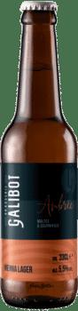 bouteilles de bière vienna lager brasserie galibot