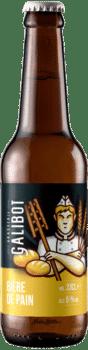 bouteilles de bière de pain brasserie galibot