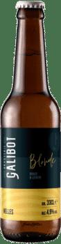 bouteilles de bière blonde helles brasserie galibot
