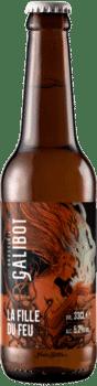 bouteilles de bière la fille du feu rauchbier brasserie galibot