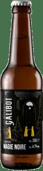 bouteilles de bière magie noire scharzbier brasserie galibot
