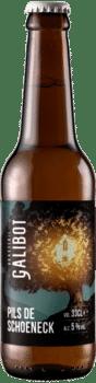 bouteilles de bière pils de schoeneckbrasserie galibot