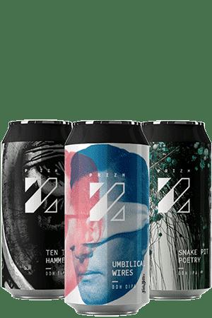 Coffret nouveautés de bières Brasserie Prizm Brewing