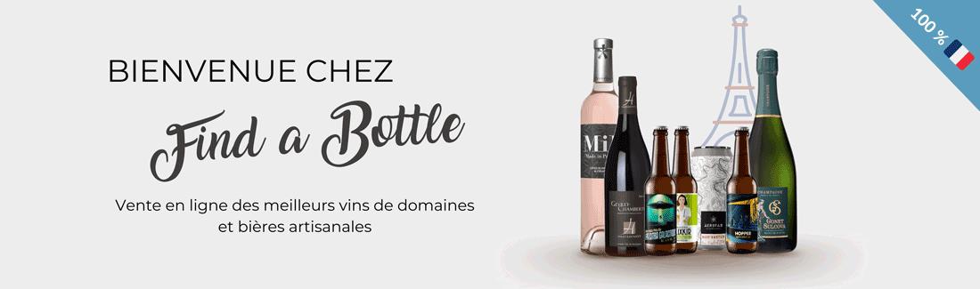 Bienvenue chez Find A Bottle
