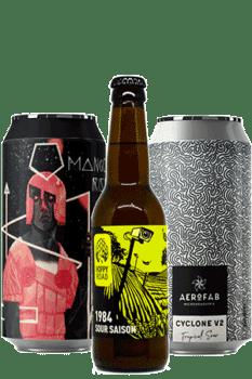 Coffret bières sour Brasseries artisanales françaises