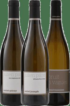 Bouteilles de vin du coffret Découverte du Domaine Julien Pilon