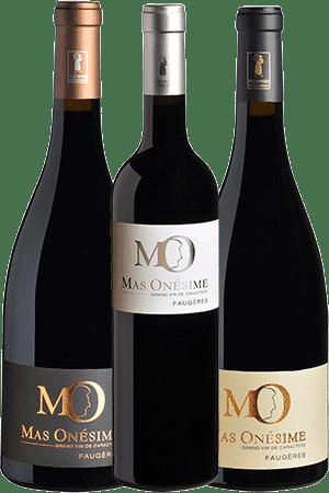 Coffret Découverte de 6 bouteilles de vin du Mas Onésime