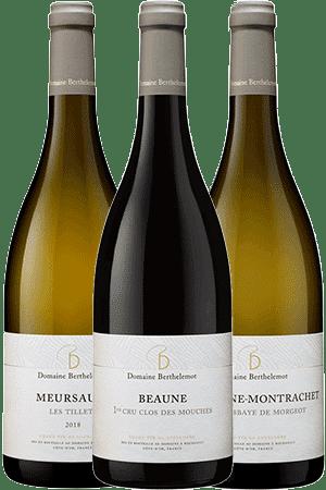 Coffret Découverte du Domaine Berthelemot en Bourgogne